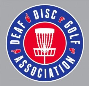 DDGA Deaf Disc Golf Association logo