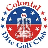Colonial Disc Golf Club logo