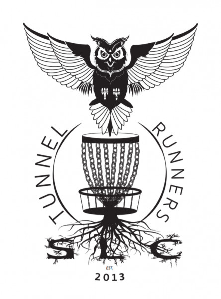 SLC Tunnel Runners Disc Golf Club logo