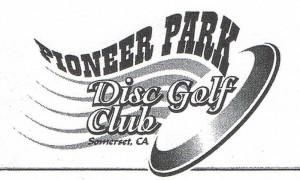 Pioneer Park Disc Golf logo