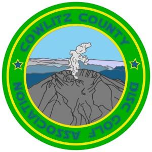 Cowlitz County Disc Golf Association logo