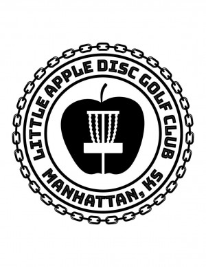 Little Apple Disc Golf Club logo