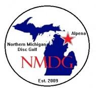 Northern Michigan Disc Golf logo