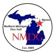 Northern Michigan Disc Golf logo