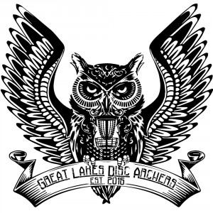 Great Lakes Disc Archers logo
