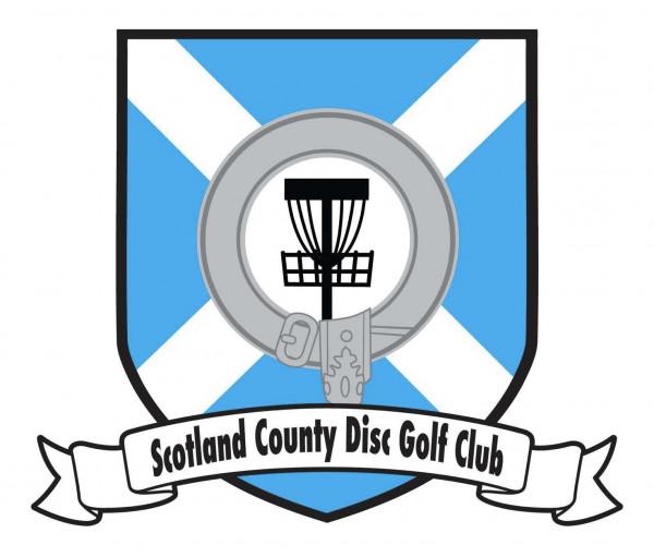 Scotland County Disc Golf Association logo