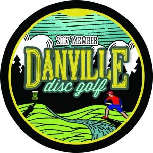 Danville Disc Golf logo