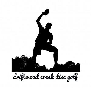 driftwood creek disc golf logo