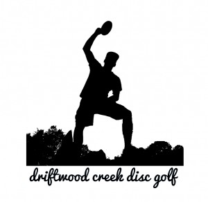 driftwood creek disc golf logo