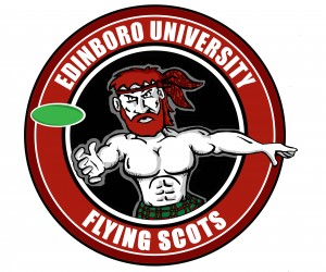 Edinboro University Disc Golf Association logo