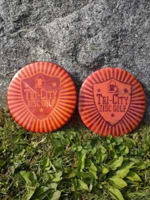 Tri-City Disc Golf Club logo