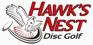 Hawk's Nest Disc Golf logo