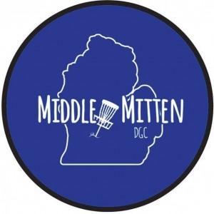Middle Mitten Disc Golf Club logo