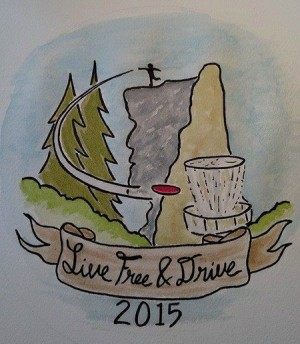 NH Disc Golf Club logo