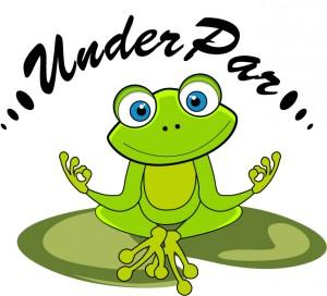 UnderPar DiscGolf Promotions logo
