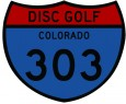 303 Disc Golf logo