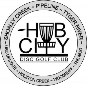 Hub City Disc Golf Club logo