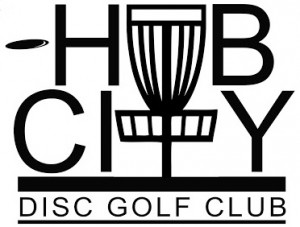 Hub City Disc Golf Club logo
