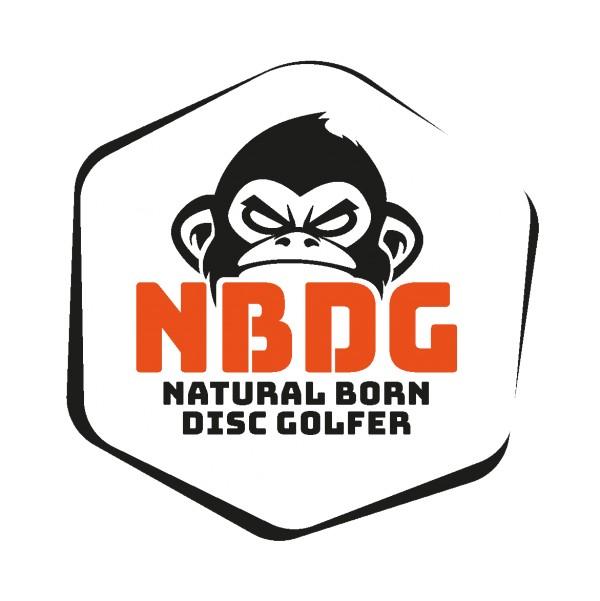 Natural Born Disc Golfer logo