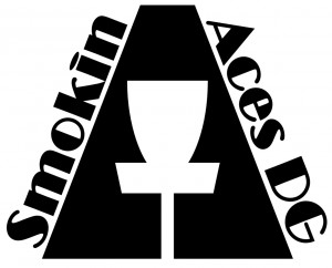 Smokin Aces Disc Golf logo