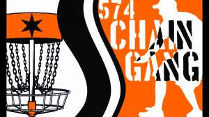 574 Chain Gang Disc Golf Team logo