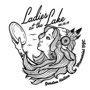 Columbus Ladies Disc Golf League logo