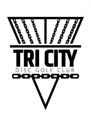 Tri-City Disc Golf Club (TCDG) logo