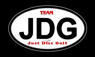 TEAM JUST DISC GOLF logo