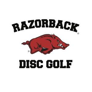 Razorback Disc Golf Club logo