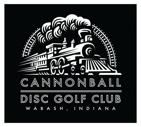 Cannonball Disc Golf Club logo