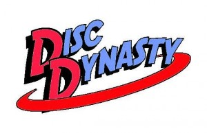 Disc Dynasty Disc Golf Club logo