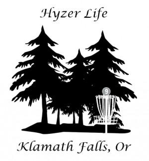 High Desert Hyzer Disc Golf Association logo