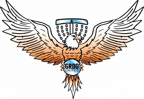 Grand Rapids Disc Golfers United logo