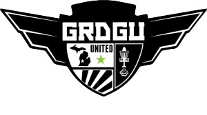 Grand Rapids Disc Golfers United logo