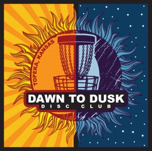 Dawn to Dusk Disc Club logo