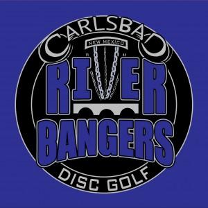 Carlsbad Riverbangers Disc Golf Club logo