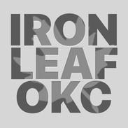 IRON LEAF OKC logo