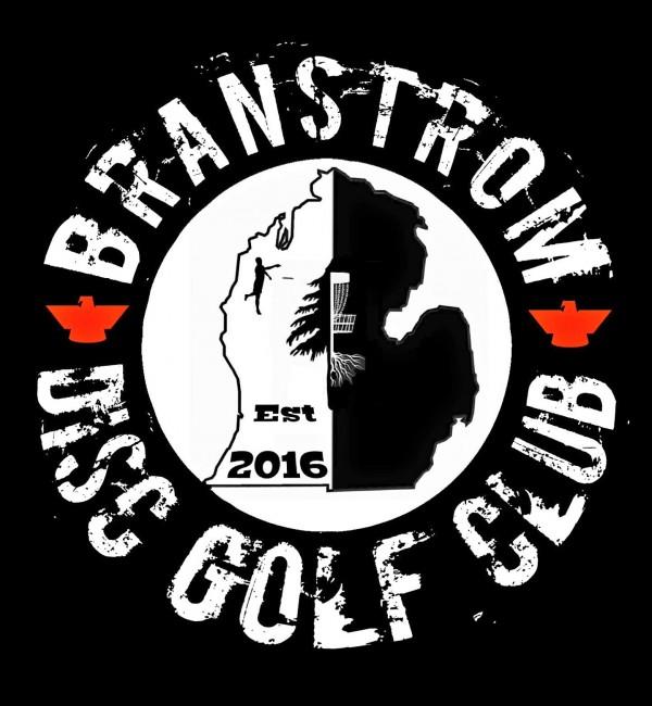 Branstrom Disc Golf Club logo