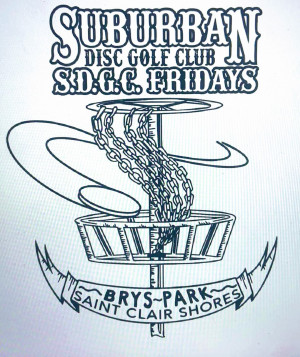 Suburban Disc Golf Club logo