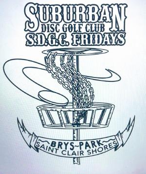 Suburban Disc Golf Club logo