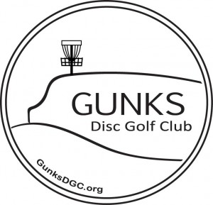 Gunks Disc Golf Club logo