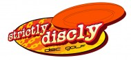 Strictly Discly Discgolf Club logo