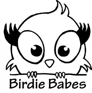 Birdie Babes Women's Disc Golf Club logo