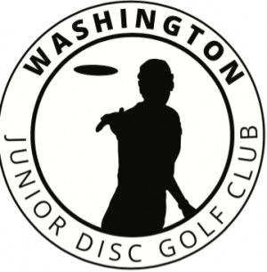 Washington Junior Disc Golf Club logo