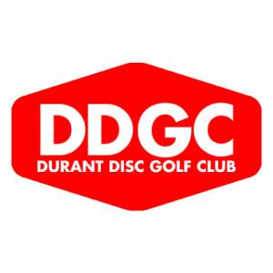 Durant Disc Golf Club logo