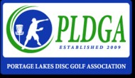 Portage Lakes Disc Golf Association logo