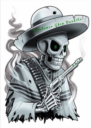 Bandemer Glow Bandits logo