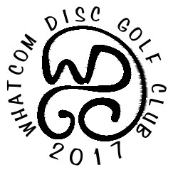 Whatcom Disc Golf Club logo