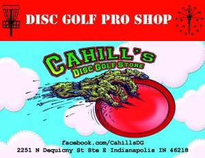 Cahill's Disc Golf Store logo