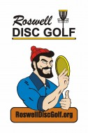 Roswell Disc Golf Club logo
